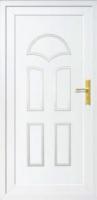 Klasszikus műanyag bejárati ajtók