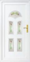 Üveges műanyag bejárati ajtók