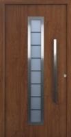 Különleges fa bejárati ajtók